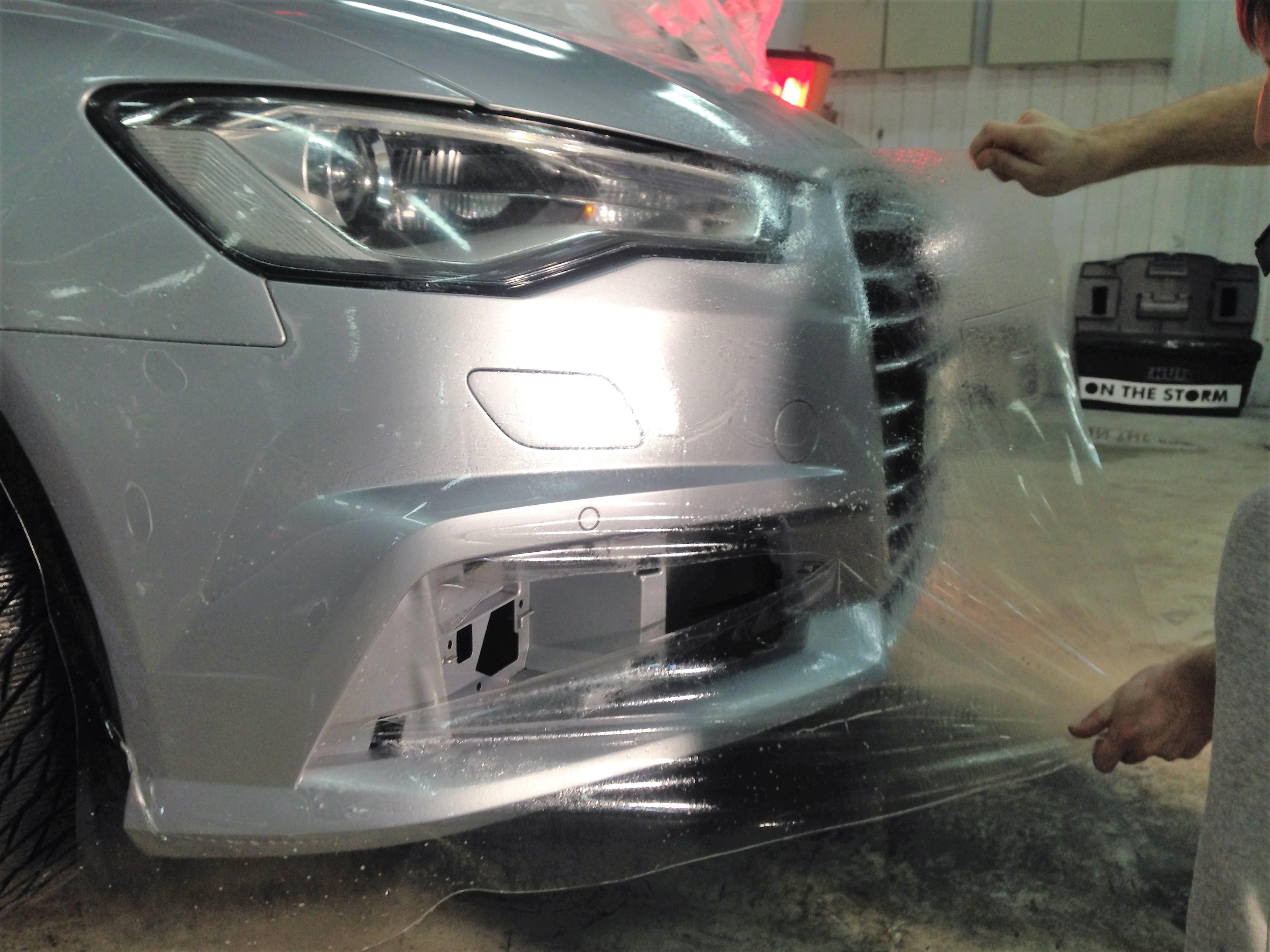 Как сэкономить на покраске автомобиля используя оклейку защитными пленками?